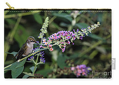 Carry-all Pouch featuring the photograph Do You Mind by Judy Wolinsky