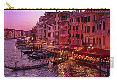 Magical, Venetian Blue Hour Carry-all Pouch