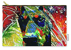 Doberman Custom Portrait Carry-all Pouch