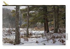 Doc Lee Rd In The Winter Carry-all Pouch