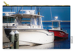 Carry-all Pouch featuring the photograph Docked And Quiet by Kendall McKernon