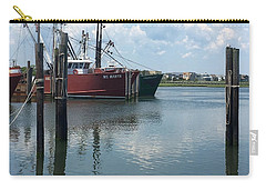 Docked At Barnegat Light Carry-all Pouch