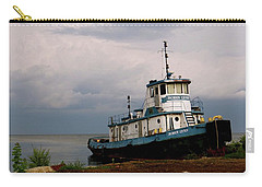 Docked On The Shore Carry-all Pouch