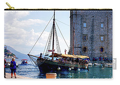 Docking In Dubrovnik Harbour Carry-all Pouch