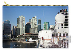 Docking In Vancouver Carry-all Pouch