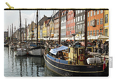 Dockside At Nyhavn Carry-all Pouch by Eric Nielsen