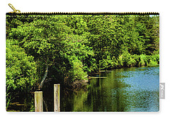 Dockside In Delaware Carry-all Pouch
