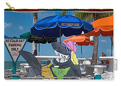 Doc's Beach House On Bonita Beach Carry-all Pouch