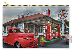 Carry-all Pouch featuring the photograph Dodge At Cruisers by Lori Deiter