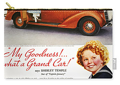 Dodge Automobile Ad, 1936 Carry-all Pouch by Granger