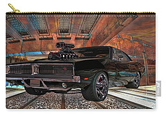 Dodge Charger R/t 1969 Hemi Carry-all Pouch by Louis Ferreira