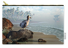 Dodo Afternoon Carry-all Pouch by Daniel Eskridge