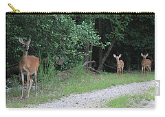 Doe With Twins Carry-all Pouch