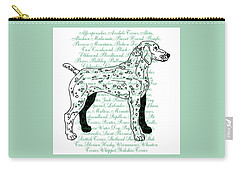 Dog Breeds Carry-all Pouch