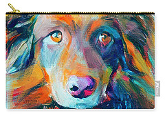 Dog Colorful Portrait Carry-all Pouch