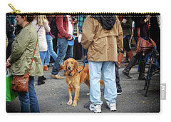 Dog In A Crowd Carry-all Pouch