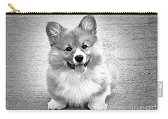 Puppy - Monochrome 6 Carry-all Pouch