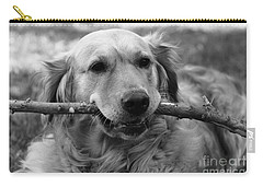 Dog - Monochrome 4 Carry-all Pouch