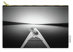 Carry-all Pouch featuring the photograph Dog On Sup - Pinhole Photo by Will Gudgeon