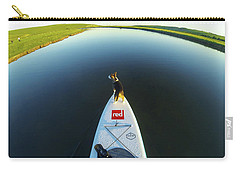 Carry-all Pouch featuring the photograph Dog Sup  by Will Gudgeon