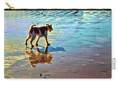 Doggone Beachy Day Carry-all Pouch