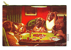Dogs Playing Poker Carry-all Pouch