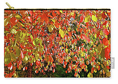 Carry-all Pouch featuring the photograph Dogwood Confetti Riot by Michele Myers