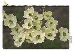 Dogwood Dance In White Carry-all Pouch