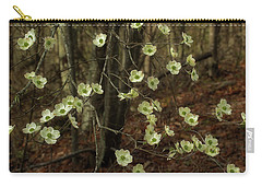 Carry-all Pouch featuring the photograph Dogwoods In The Spring by Mike Eingle