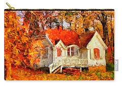 Doll House And Foliage Carry-all Pouch