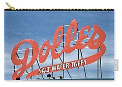 Carry-all Pouch featuring the photograph Dolles Salt Water Taffy - Rehoboth Beach  Delaware by Brendan Reals