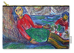 Dolls On The Beach Carry-all Pouch