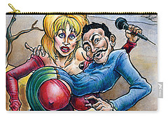 Dolly Meets Dali Carry-all Pouch by John Ashton Golden