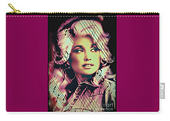 Dolly Parton - Digital Art Painting Carry-all Pouch