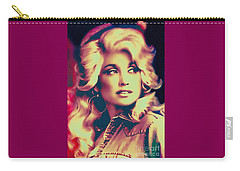 Dolly Parton - Vintage Painting Carry-all Pouch