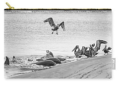 Dolphin And Pelican Party Carry-all Pouch
