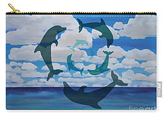 Dolphin Cloud Dance Carry-all Pouch
