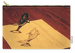 Carry-all Pouch featuring the photograph Dolphins by T Brian Jones