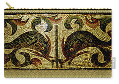 Dolphins Of Pompeii Carry-all Pouch