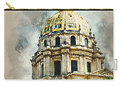 Dome Des Invalides Carry-all Pouch by Kai Saarto