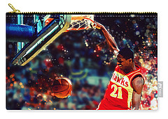 Dominique Wilkins - Nba Legend Carry-all Pouch
