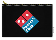 Domino's T-shirt Carry-all Pouch by Herb Strobino