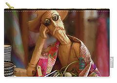 Don Quixote De La Mancha Carry-all Pouch