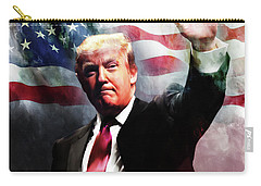 Donald Trump 01 Carry-all Pouch by Gull G