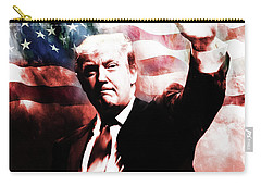 Donald Trump 01a Carry-all Pouch by Gull G