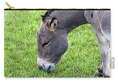 Donkey Closeup Portrait Carry-all Pouch