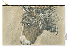 Donkey Portrait Carry-all Pouch