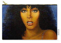 Carry-all Pouch featuring the painting Donna Summers by Loxi Sibley