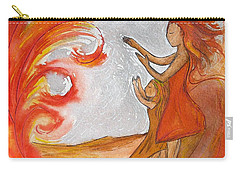 Don't Be Afraid Carry-all Pouch by Gioia Albano