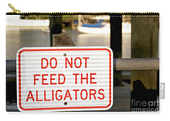 Don't Be Gator Bait Carry-all Pouch